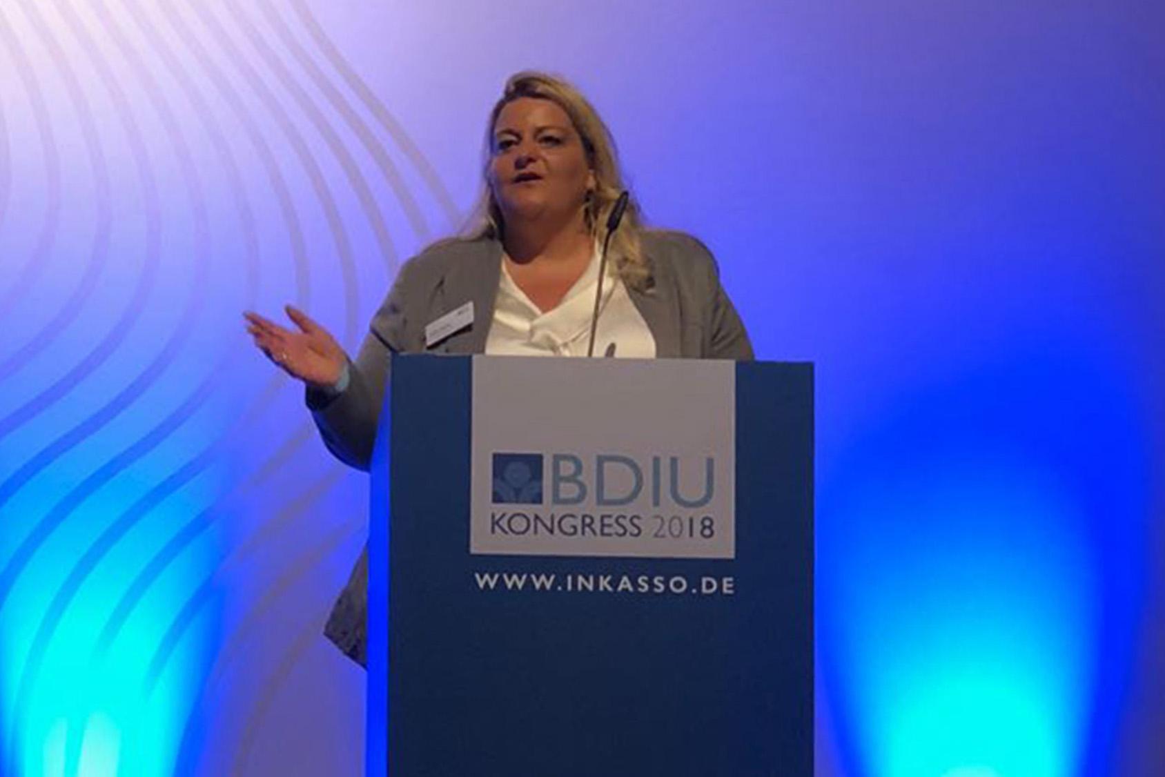 System Inkasso Geschäftsführerin Yvonne Wagner ist zur Vizepräsidentin im Bundesverband Deutscher Inkassounternehmen e. V. in Berlin (BDIU) gewählt worden