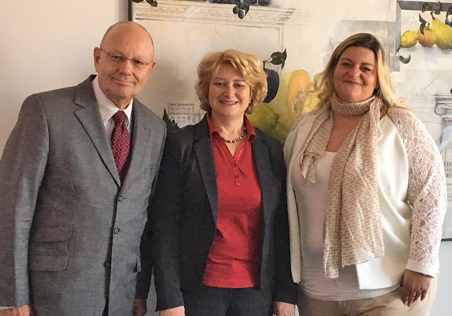 Rita Hagl-Kehl, MdB zu Besuch bei System Inkasso